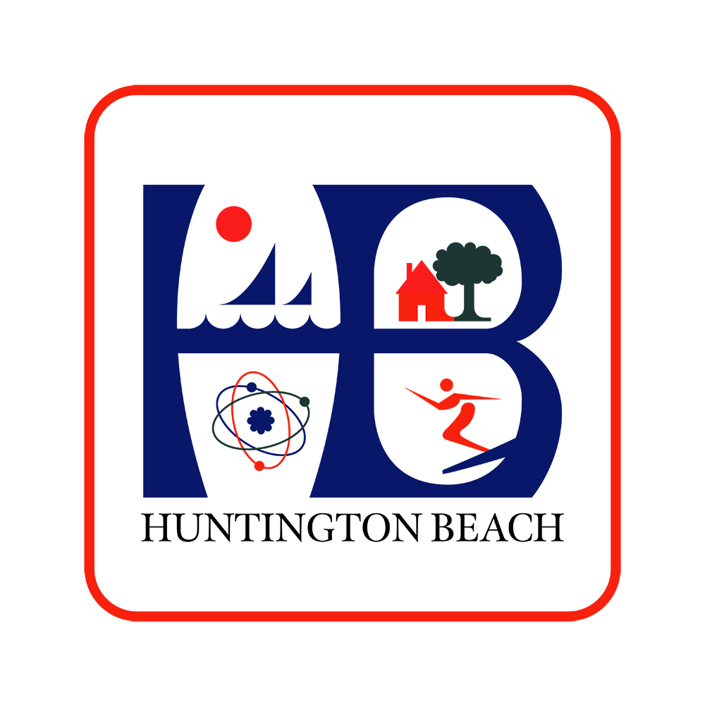 City of Huntington Beach, CA Logo